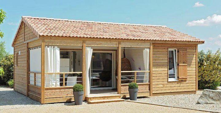 Chalet in legno prefabbricato modello plein air 37 3 for Casette in legno usate ebay