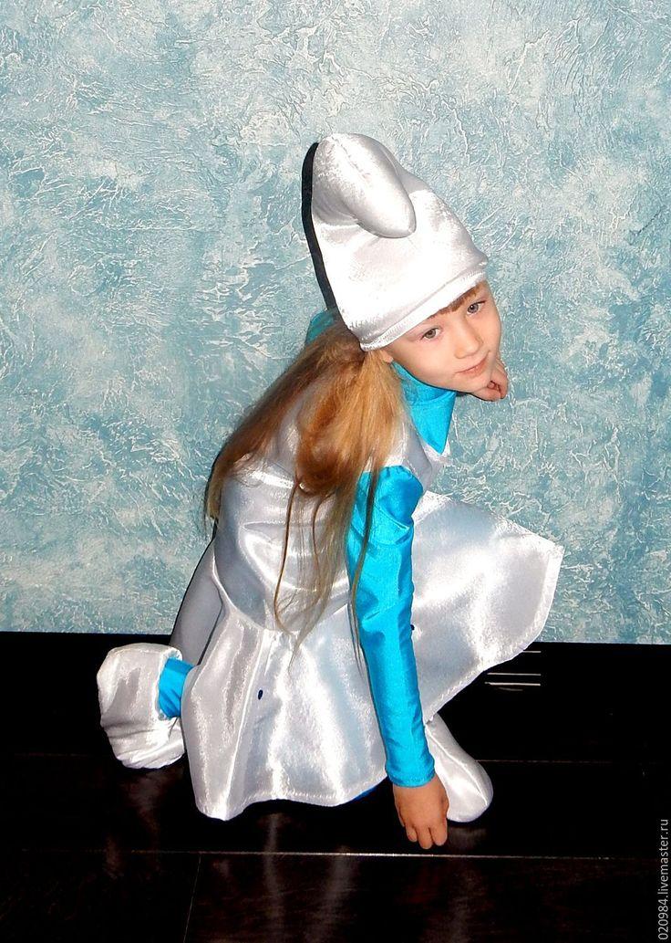 Купить Смурфетта - тёмно-бирюзовый, костюм, Смурфик, смурфики, смурфетта, карнавальный костюм, карнавальное платье