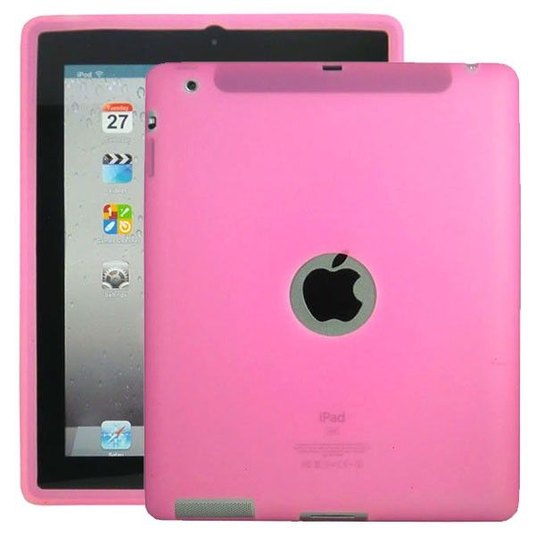 Soft Shell Logo (Rosa) Deksel for iPad 3