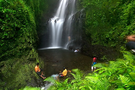 Waterfalls at Pohnpei (Federated States of Micronesia). Would love to go back!
