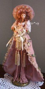 106 Best Images About Victorian Tassel Dolls On Pinterest