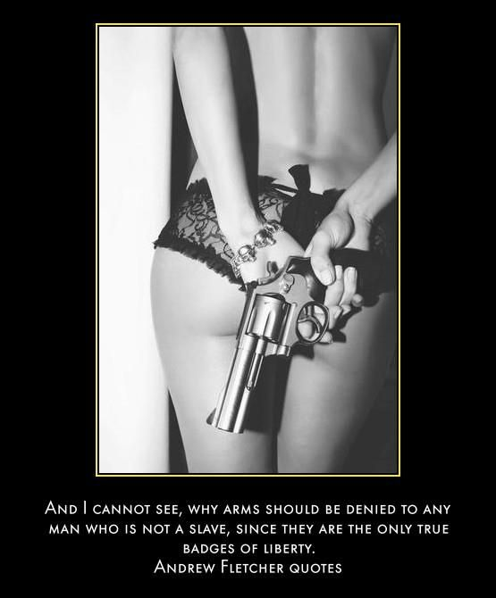 Gun quote. FB.com/PunisherGirlz #punishergirlz #shoprackcitymt www.rackcitymt.com