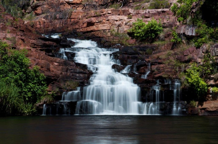 The lovely Melaluca Falls