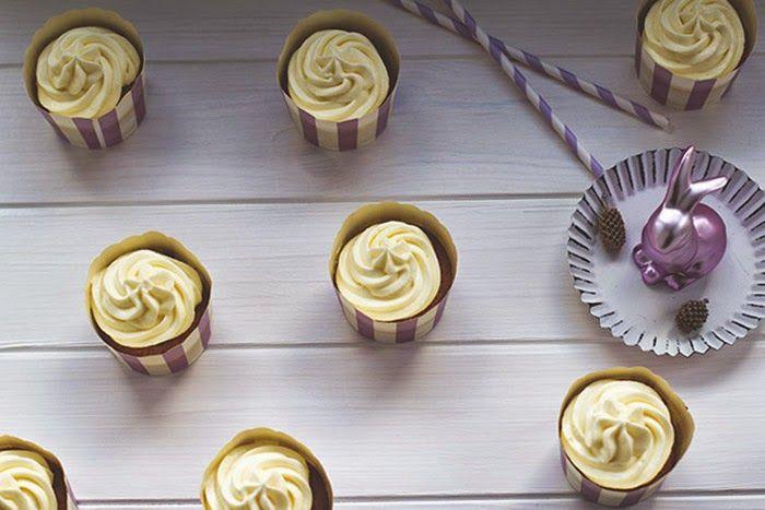 Schmecken nicht nur zu Ostern: Saftige Carrot (Cake) Cupcakes mit Cream Cheese Frosting