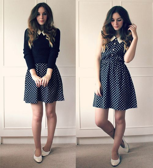 25  Best Ideas about Polka Dot Vintage Dresses on Pinterest ...