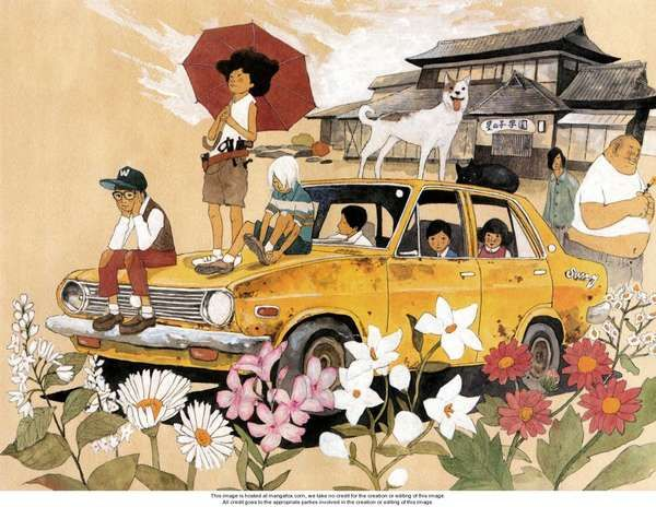 sunny manga taiyo matsumoto.  I like how each person is in his/her own world.  Very indicative of our individuality, our viewpoints..