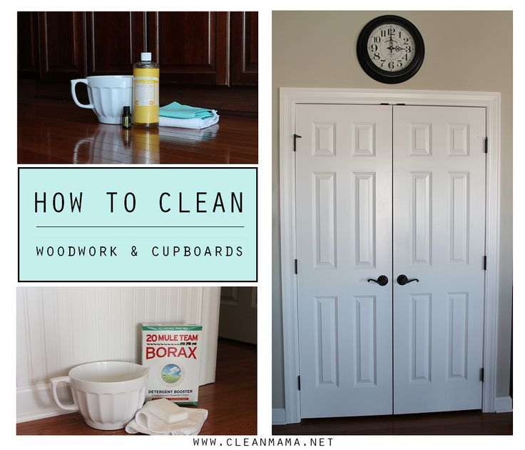Clean all your cupboards and woodwork lickety split with these tips. Includes DIY recipes to keep it natural and inexpensive too!