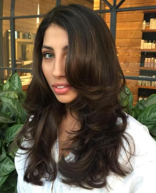 20 Impressive Haircuts And Hairstyles For Long Dark Brown Hair In