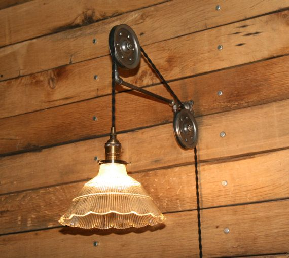 11 Best DIY Pulley Lights Images On Pinterest