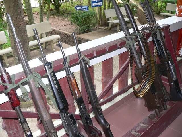 vietnam tunnels gun range - Google Search