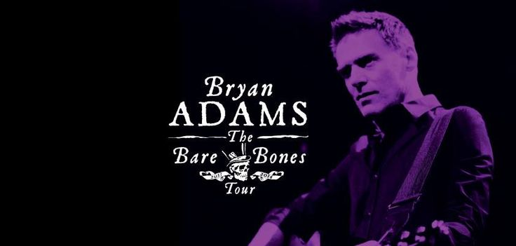 Bryan Adams 'Bare Bones Tour' to South Africa. Coming to you soon! Check out our www.bigconcerts.co.za