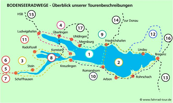 fahrrad-tour.de -  Bodenseeradweg