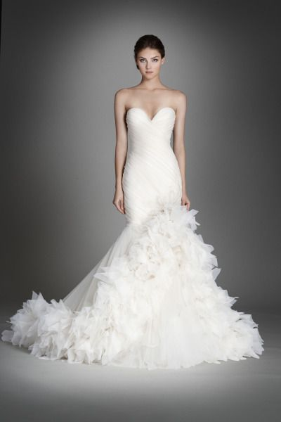 Lazaro Fall 2015 Collection at JLM Couture: http://www.stylemepretty.com/2015/05/19/492715/