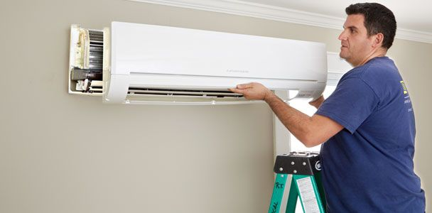 How are you keeping cool this summer? Here's an easy-install way to provide cooling (and heating come winter) without ducts—and no window units!