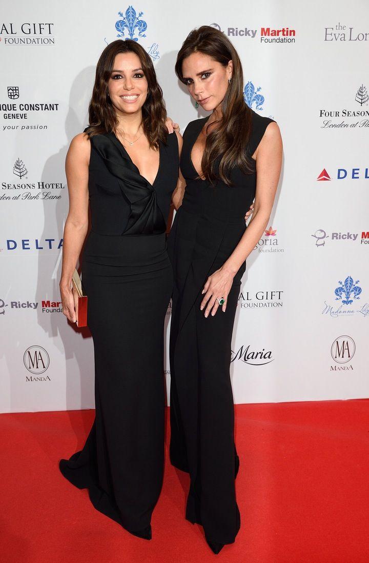 REPORT: Victoria Beckham is Designing Eva Longoria's Wedding Dress!