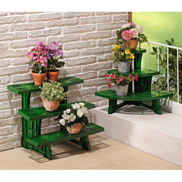 Stojan na květiny, kulatý 60,5 x 38 x 48 cm | Magnet 3Pagen #magnet3pagen #magnet3pagen_cz #magnet3pagencz #3pagen #garden