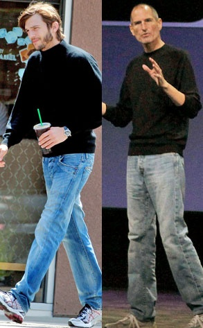 First Look: Ashton Kutcher in his Steve Jobs guise!