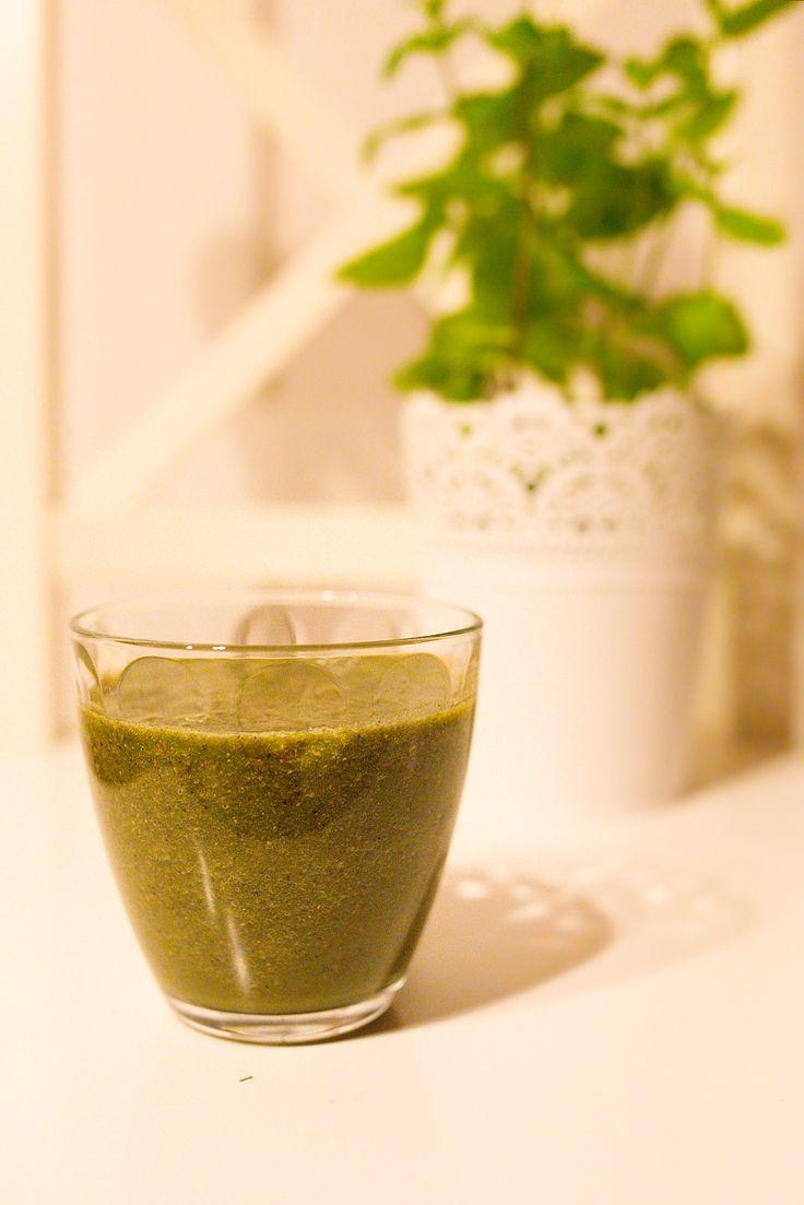 Zelené smoothie plné energie