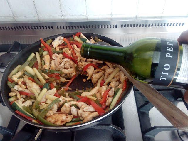 Chopsuey Rápido De Pollo Pollo Recetas Almuerzo Comida