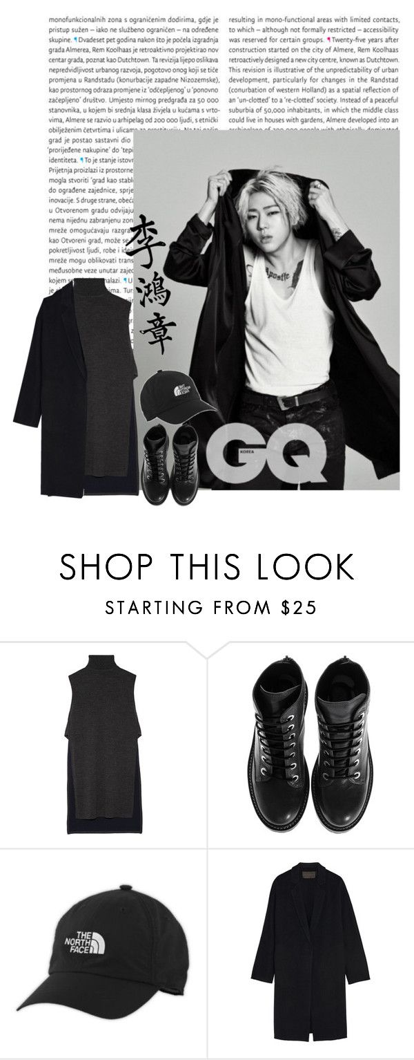 """I'm Fine - Zico"" by junhyk ❤ liked on Polyvore featuring Oris, ADAM, Kenzo, The North Face, Donna Karan, kpop, Zico and khiphop"