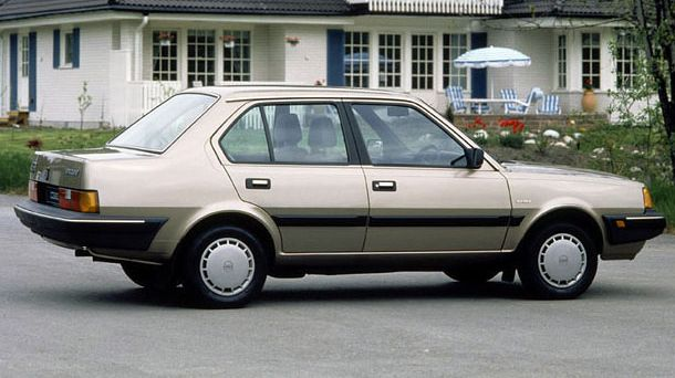 Volvo 360 - exactly this version and colour my grandfather owned.