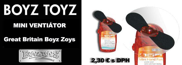 Mini ventilátor darčeky 2,30 € www.coolish.sk