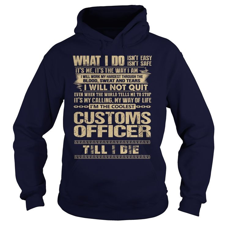 nice   Awesome Tee For Customs Officer -  Teeshirt this week