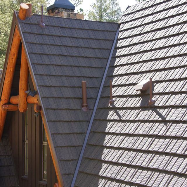 Source Latest Decorative Metal Roofs Stone Coated Metal Roofing Sheet Wholesale Roofing Shingles On M Aliba Metal Roofing Prices Sheet Metal Roofing Metal Roof