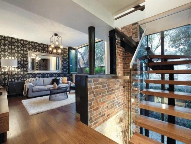 House with brick wall | dream house | Pinterest | Bricks