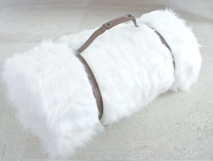 Arctic Faux Fur Throw NZ $145, I am lined with soft white velboa & ready to snuggle when you are!
