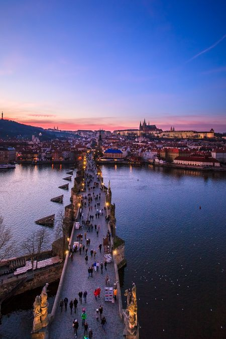 Dusk on Magical Prague Photo by Lucy Liu — National Geographic Your Shot