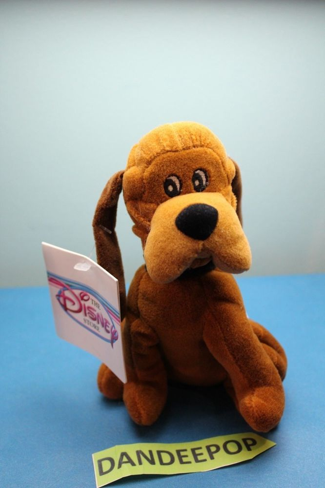 The Disney Store And Parks Mini Bean Bag Plush Trusty Dog Lady And The Tramp 8 Dog Lady Lady And The Tramp Dog Bean Bag