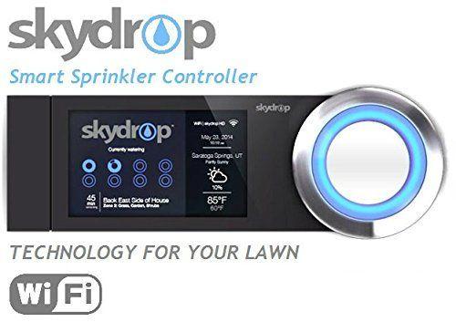 SkyDrop 8 Zone WifiEnabled Smart Sprinkler Controller  Expandable Frustration Free Packaging ** Visit the image link more details-affiliate link.