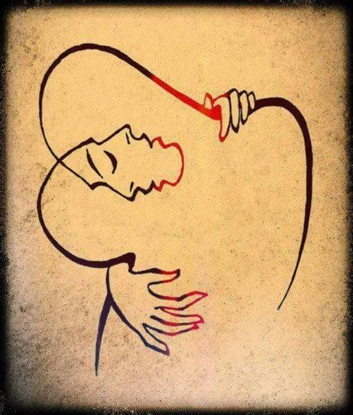 Josef Kunstmann, L'abbraccio, 1949