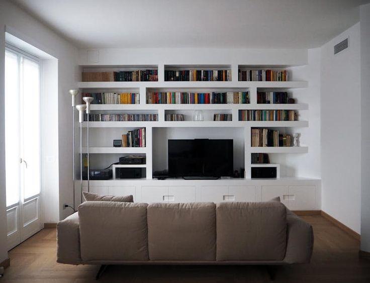 Foto di soggiorno in stile in stile moderno : quando il muro si fa tre-d | homify