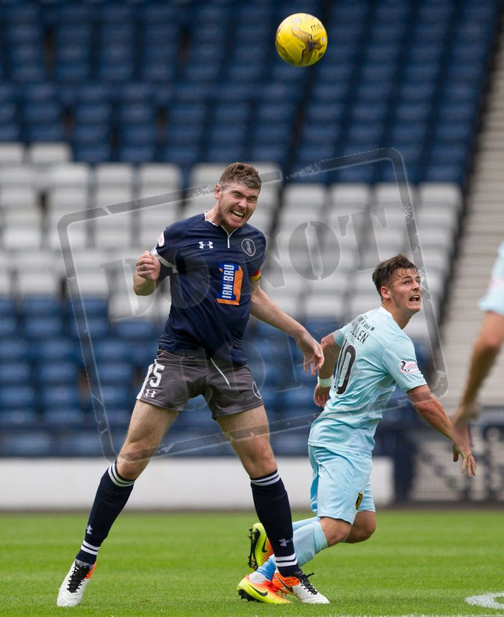 Queen's Park's Ryan McGeever in action during the Ladbrokes League One game between Queen's Park and Livingston