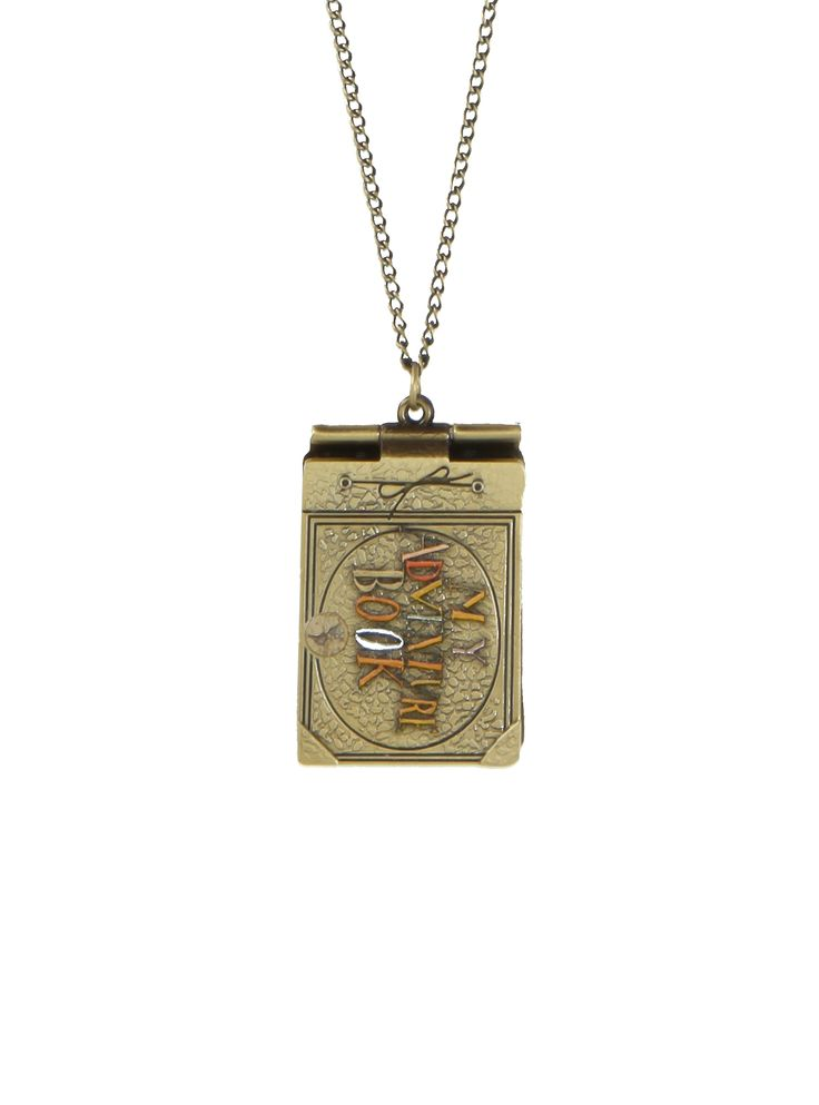 Disney Up Adventure Book Necklace   Hot Topic. THIS IS PERFECT @careyvandewalle