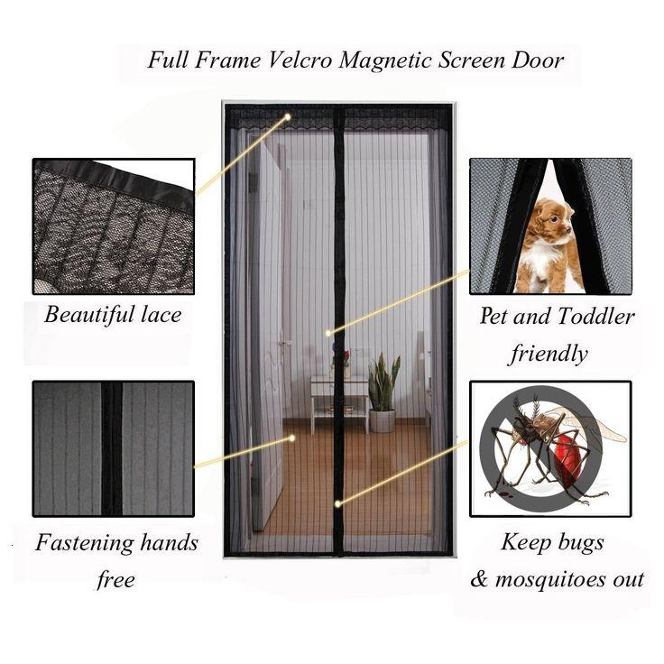 Magnetic Screen Door For Cats