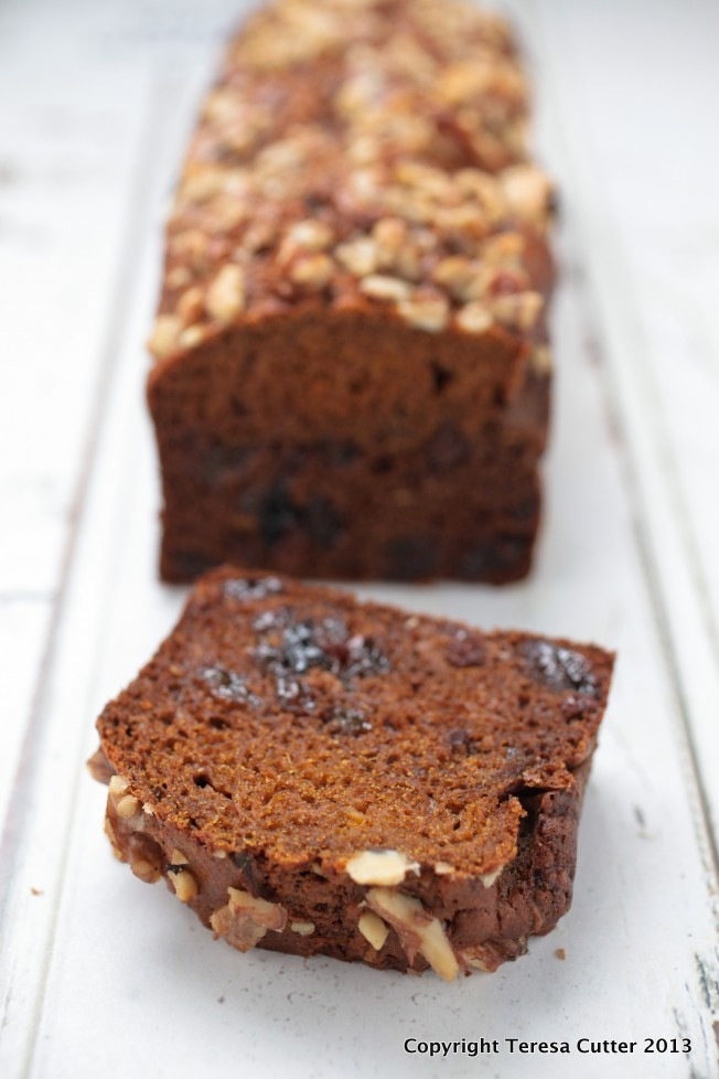 Pumpkin Fruit Cake. Available at Fusion Cafe!