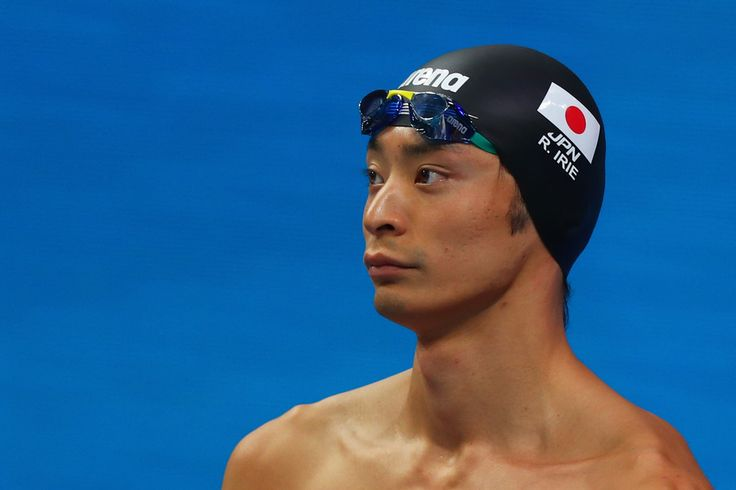 Ryosuke Irie of Japan competes during the Men's 100m Breaststroke Heats on day eleven of the Budapest 2017 FINA World Championships on July 24, 2017 in Budapest, Hungary.
