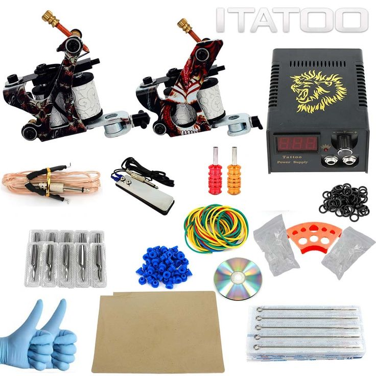 77.14$  Watch now - http://aliu7z.worldwells.pw/go.php?t=32383016170 - ITATOO Complete Tattoo Kit Permant Makeup Machine For Kit Tatuagem Microblading Supply Kits Best Tattoo Machine Price Equipment 77.14$