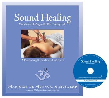 Afbeelding voor: Stemvorken boek & dvd Sound Healing with Tuning Forks