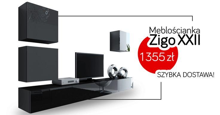 Black or white? We cannot decide. Choose perfect furniture for yourself!  Czarne czy białe? Ciężko się zdecydować. Wybierz idealne meble dla siebie!  #meble #furniture #mirjan24 #black #white #livingroom #home #salon