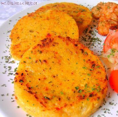 Kiskukta konyhája: Fűszeres puliszka grillezve és rántott gomba sajtbundában
