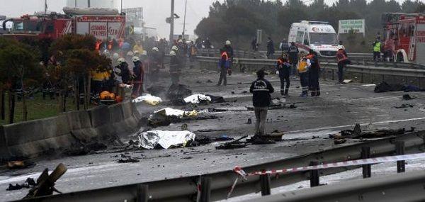 Accidente de helicóptero en Turquía deja al menos 5 muertos