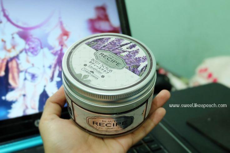 Beaute Recipe Lavender Body Scrub