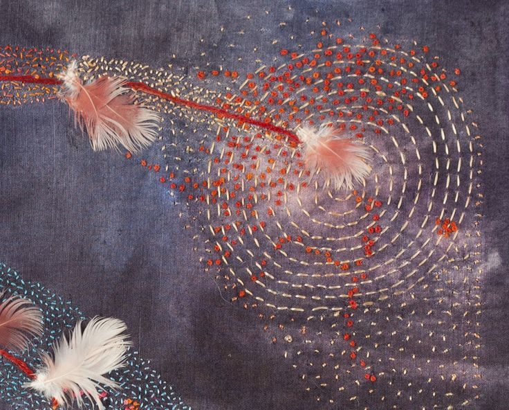 Best images about fiber art embroidery and needle arts