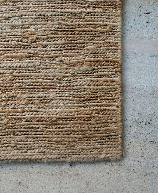 Our all natural Braided jute rug. Best suited to - Lounge rooms, bedrooms & entranceways – spaces requiring a hard wearing & durable texture which adds depth and character to the space. Being a double sided rug means I have double the life span and can be flipped over seasonally.