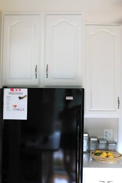 The After Painting Cabinet Photos Benjamin Moore The O