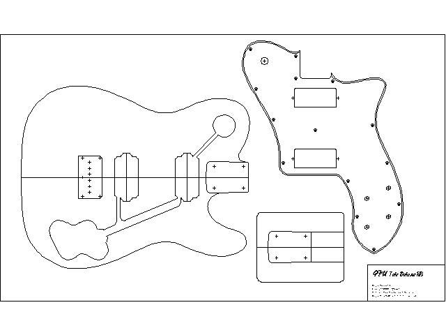 Body templates woodworking guitar stuff pinterest for Bass guitar body templates